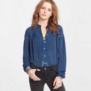 Free People Every Day Every Girl Blouse